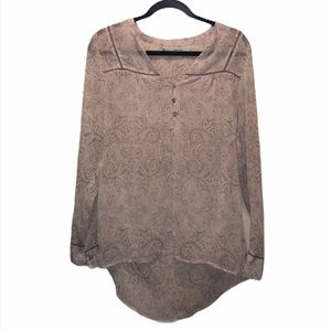 Maurices Tops - MAURICES Hi-Lo Blouse